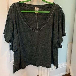 Oversized Tee from Free People!⭐️⭐️⭐️